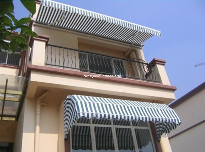 Window Awning Parts Components Outdoor Canopy European Stype Aluminium Retractable