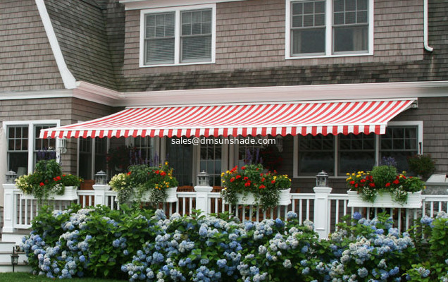 factory hot sale half cassette awning