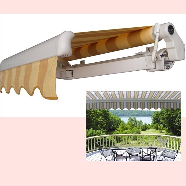 retractable awning components