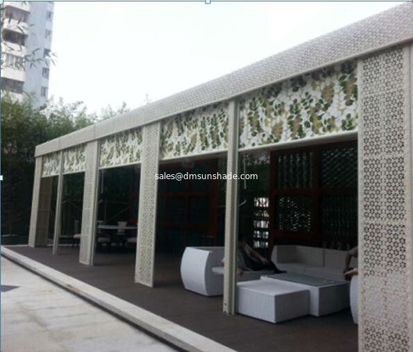 high quality smart window retractable awnings