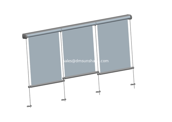 vertical window awnings, vertical awning, remote control vertical awning