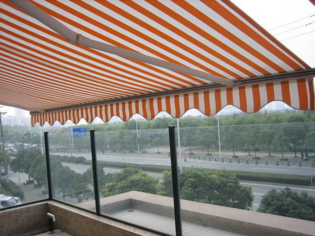 high quality of awning with 5m big retractable awning